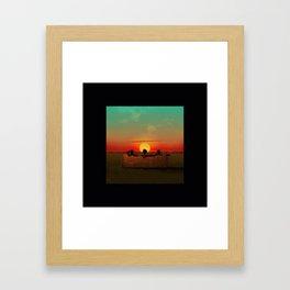 Atlanta donald Framed Art Print