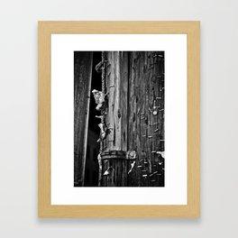 staples are forever Framed Art Print