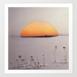 Gas Oasis Art Print