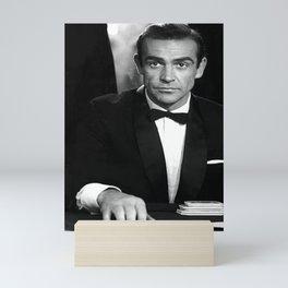 Sean Connery photo, vintage James movie star photograph Mini Art Print