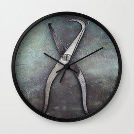 Spring Pliers Wall Clock