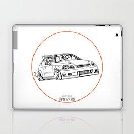 Crazy Car Art 0217 Laptop & iPad Skin