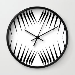 triangles with eyes Wall Clock
