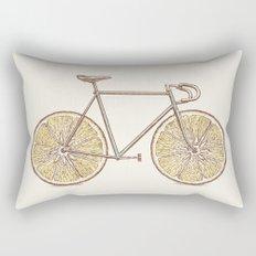Velocitrus (color version) Rectangular Pillow