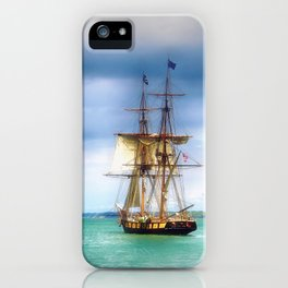 The Journey Begins - Flagship Niagara, Erie, PA iPhone Case