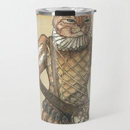 Banjo Cat Travel Mug