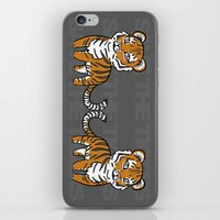 tigers iPhone & iPod Skins featuring TIGERs by hoshi-kou