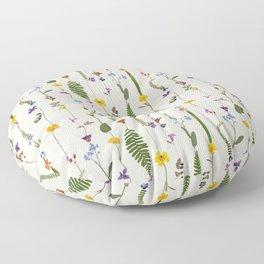 Pressed Florals Floor Pillow
