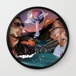 PNL---ART II Wall Clock