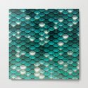 Turquoise sparkling mermaid glitter scales- Mermaidscales by betterhome