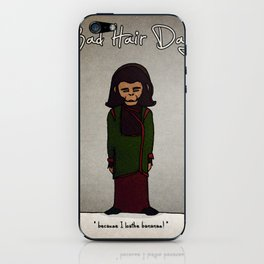 bad hair day no:1 / Planet of the Apes iPhone Skin
