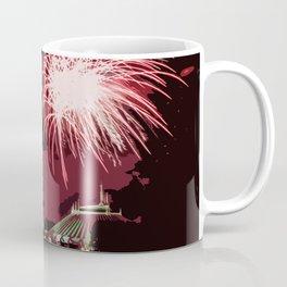 Fireworks Over Lake Buena Vista Coffee Mug