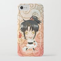 chibi iPhone & iPod Cases featuring Chibi Ashura by Neo Crystal Tokyo