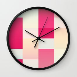Abstract Dawn #society6 #decor #buyart Wall Clock