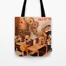 Toy Works Tote Bag