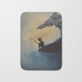 Adventures of Huckleberry Finn by Mark Twain Bath Mat
