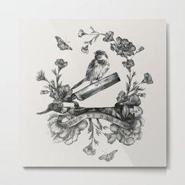 Bold as Brass Metal Print