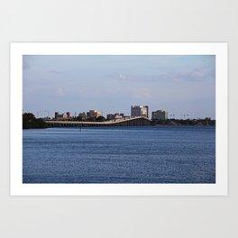 The 41 Bridge Over the Caloosahatchee I Art Print