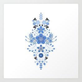 Spring Blues Art Print