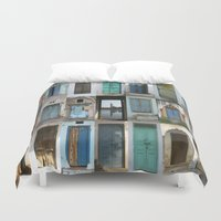 india Duvet Covers featuring INDIA - Doors of India by Shana's Shop