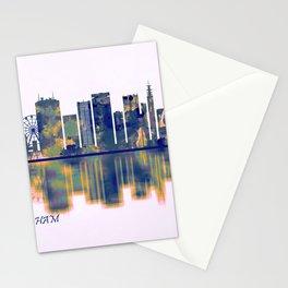 Birmingham Skyline Stationery Cards