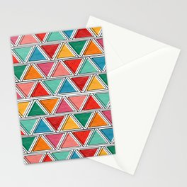 African Sunset Colors Stationery Cards