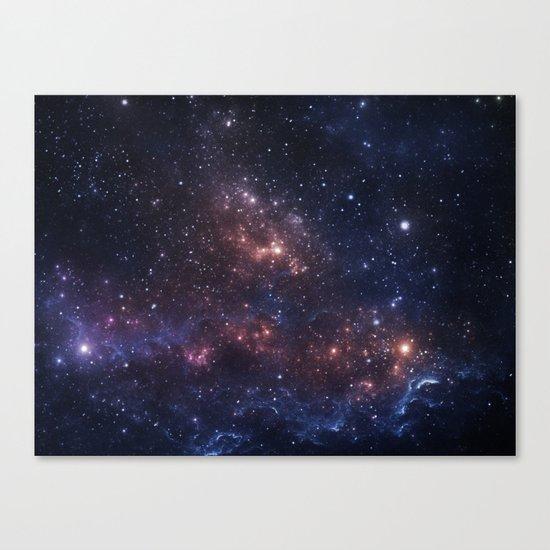 Stars and Nebula Canvas Print
