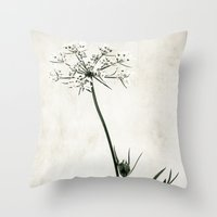lace Throw Pillows featuring lace by Bonnie Jakobsen-Martin