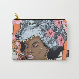 Guilt In Her Grin Carry-All Pouch
