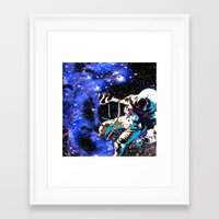 astronaut Framed Art Prints featuring Astronaut  by Saundra Myles