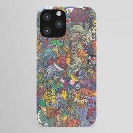 Kaiju Crew iPhone Case