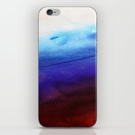 Ruby Tides - Original Abstract Art iPhone Skin