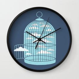 Free As a Bird Wall Clock