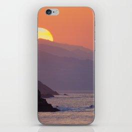Sunset Donosti iPhone Skin