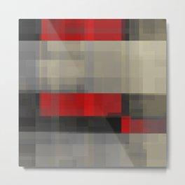 reds behind gray Metal Print