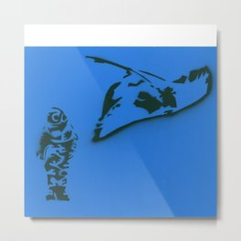 Nothing To Doubt (Sting Ray) Metal Print