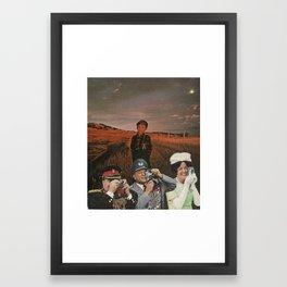 #93 Framed Art Print