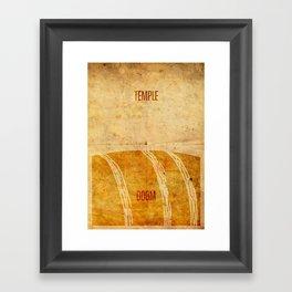 Temple (aged) Framed Art Print