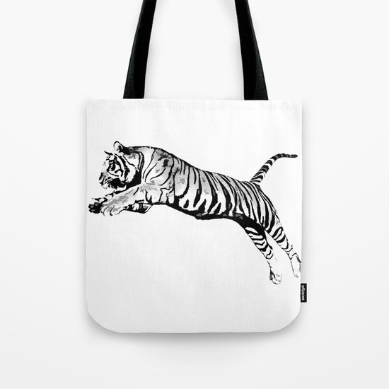 Flying Tiger Tote Bag