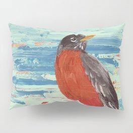 American Robin Pillow Sham