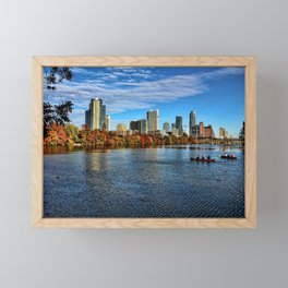Austin Skyline From Lou Neff Point Framed Mini Art Print