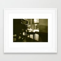 piano Framed Art Prints featuring Piano by Chris Klemens