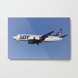 Lot Boeing 737 Metal Print
