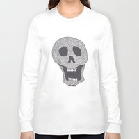 celtic Long Sleeve T-shirts featuring Celtic Skull by ronnie mcneil
