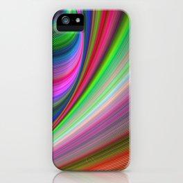 Vivid hypnosis iPhone Case
