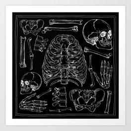 Bones Kunstdrucke