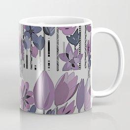 Tall Flowers Twilight Coffee Mug