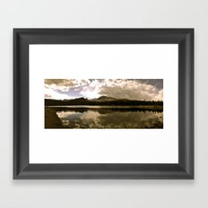 Brainard Lake, Colorado Framed Art Print