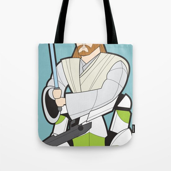 Obi-wan and Clone Trooper Tote Bag