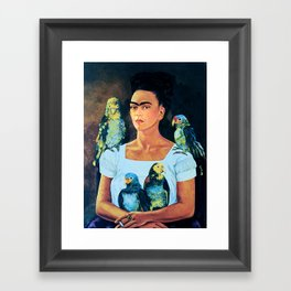 FRIDA KAHLO 2 Framed Art Print